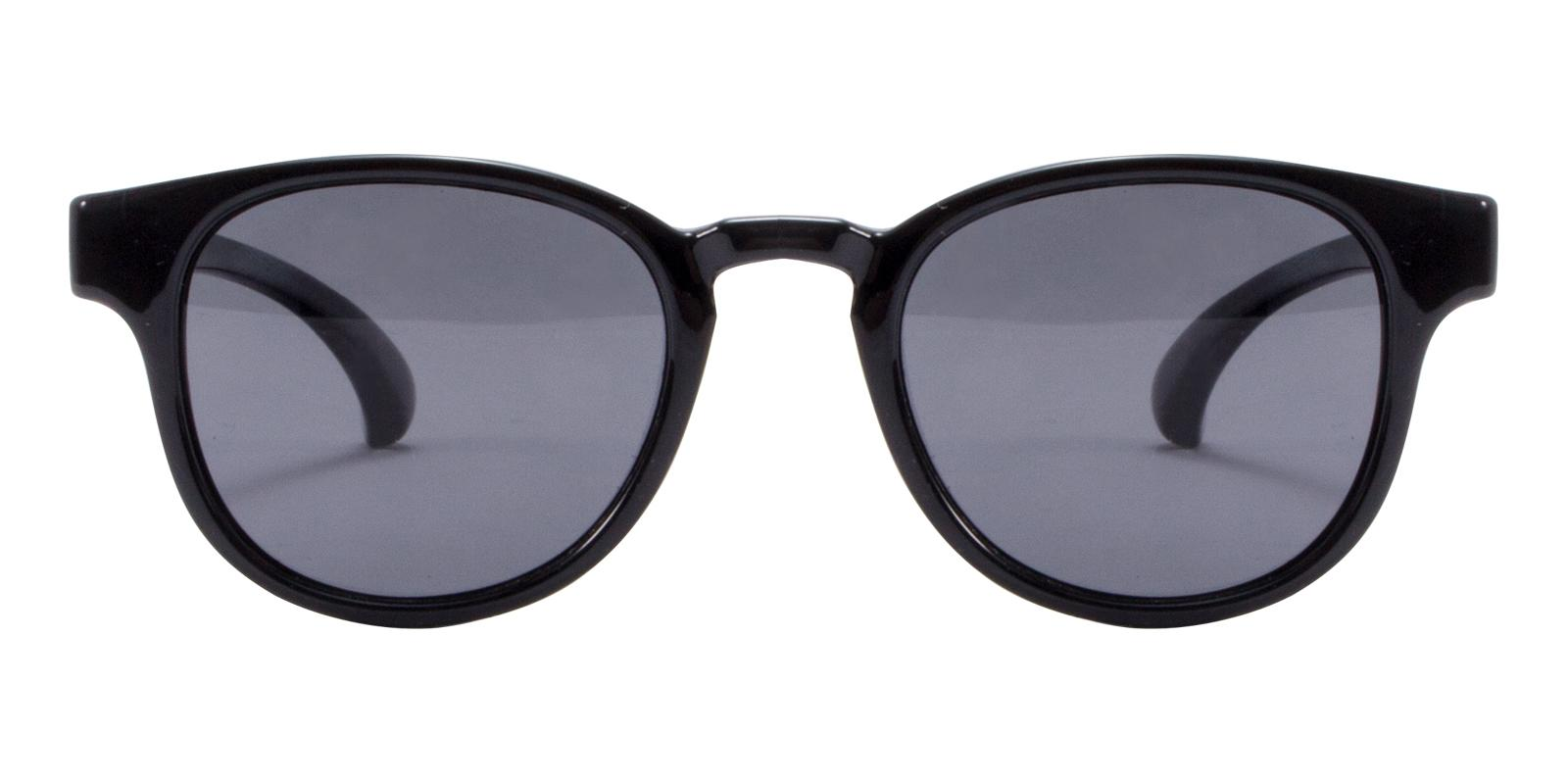 Dainty Black TR Sunglasses , UniversalBridgeFit Frames from ABBE Glasses