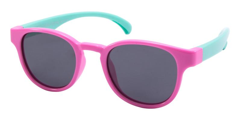 Pink Kids-Dainty - TR Sunglasses , UniversalBridgeFit