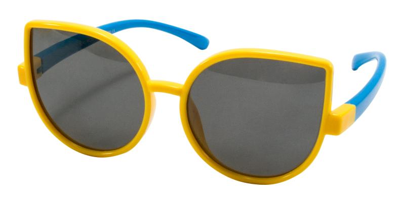 Yellow Kids-Blader - TR Sunglasses , UniversalBridgeFit