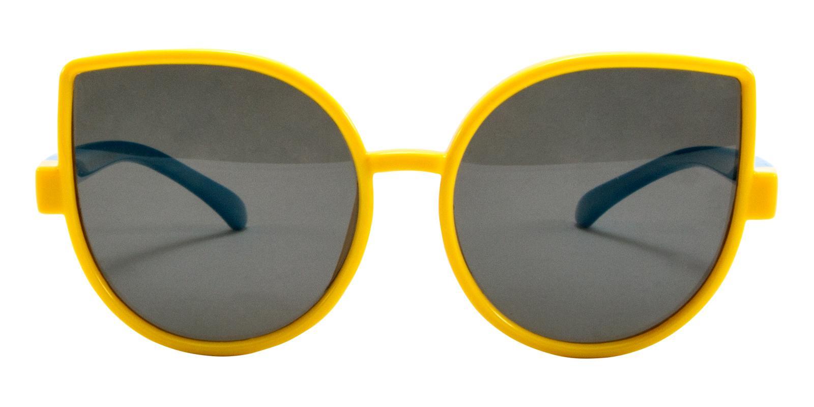 Blader Yellow TR Sunglasses , UniversalBridgeFit Frames from ABBE Glasses