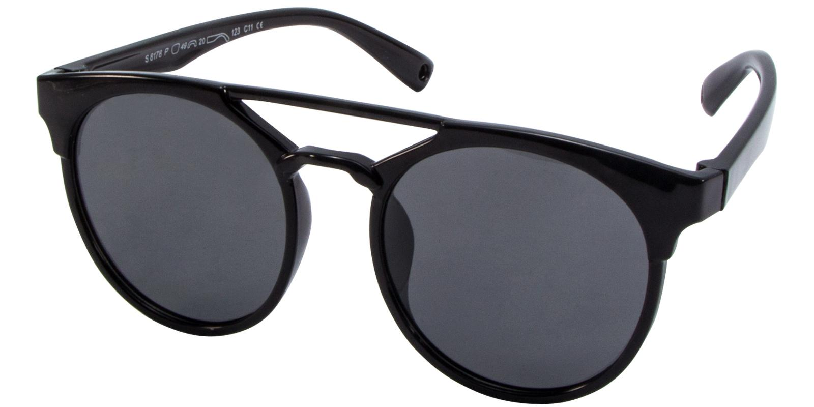 Norbter Black TR Sunglasses , UniversalBridgeFit Frames from ABBE Glasses