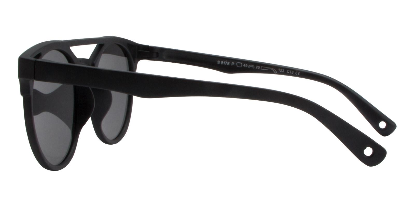 Norbter Gray TR Sunglasses , UniversalBridgeFit Frames from ABBE Glasses