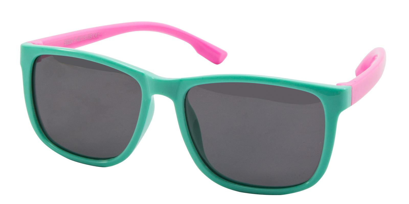 Hyacin Green TR Sunglasses , UniversalBridgeFit Frames from ABBE Glasses