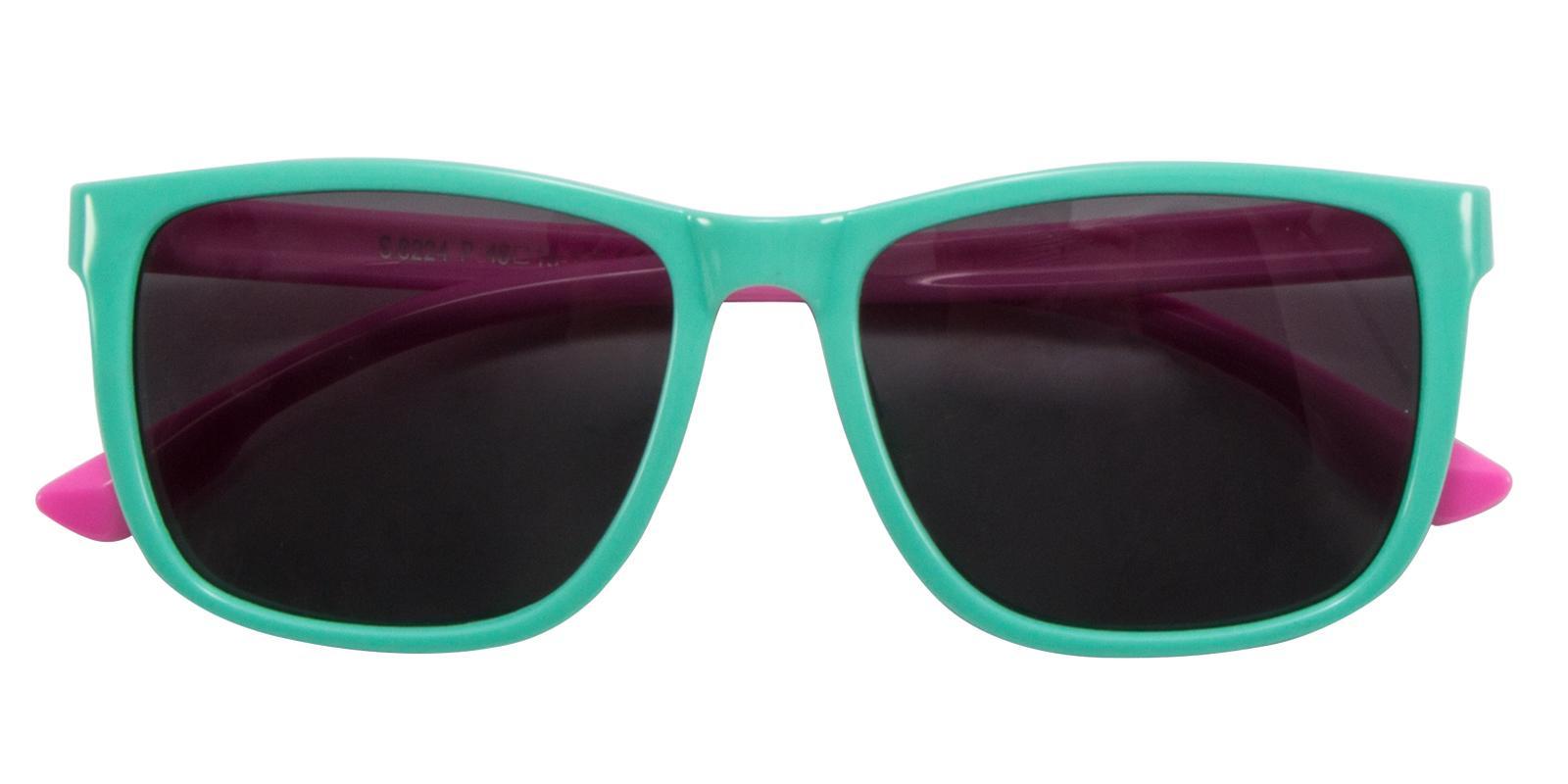 Hyacin Green TR Sunglasses , UniversalBridgeFit Frames from ABBE Glasses