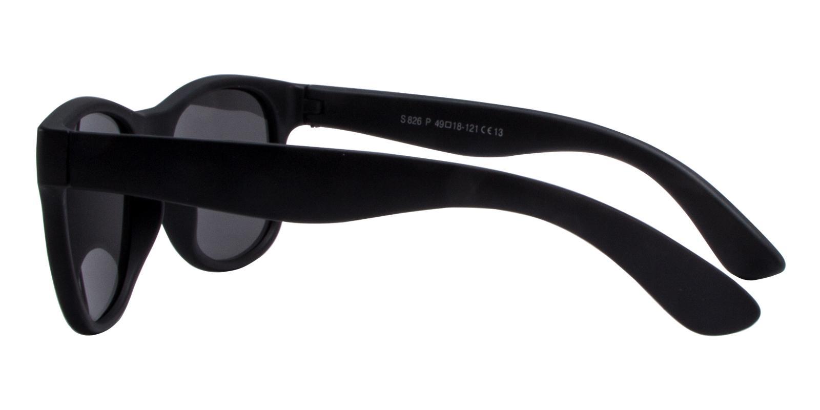 Obsid Black TR Sunglasses , UniversalBridgeFit Frames from ABBE Glasses
