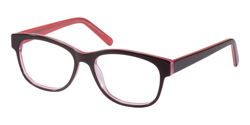Red Doubell - Acetate ,Eyeglasses