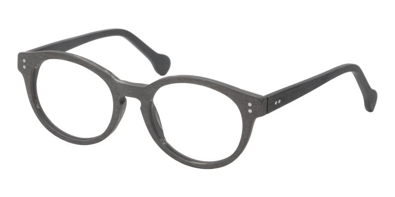 Gray Bearly - Acetate ,Universal Bridge Fit