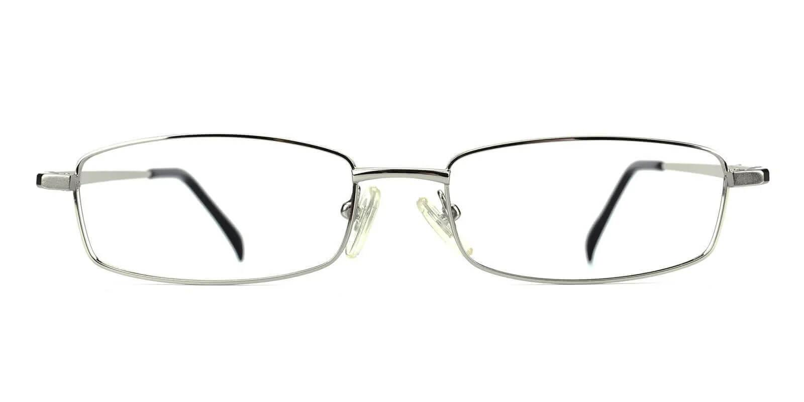 Gihon Silver Metal Eyeglasses , NosePads Frames from ABBE Glasses