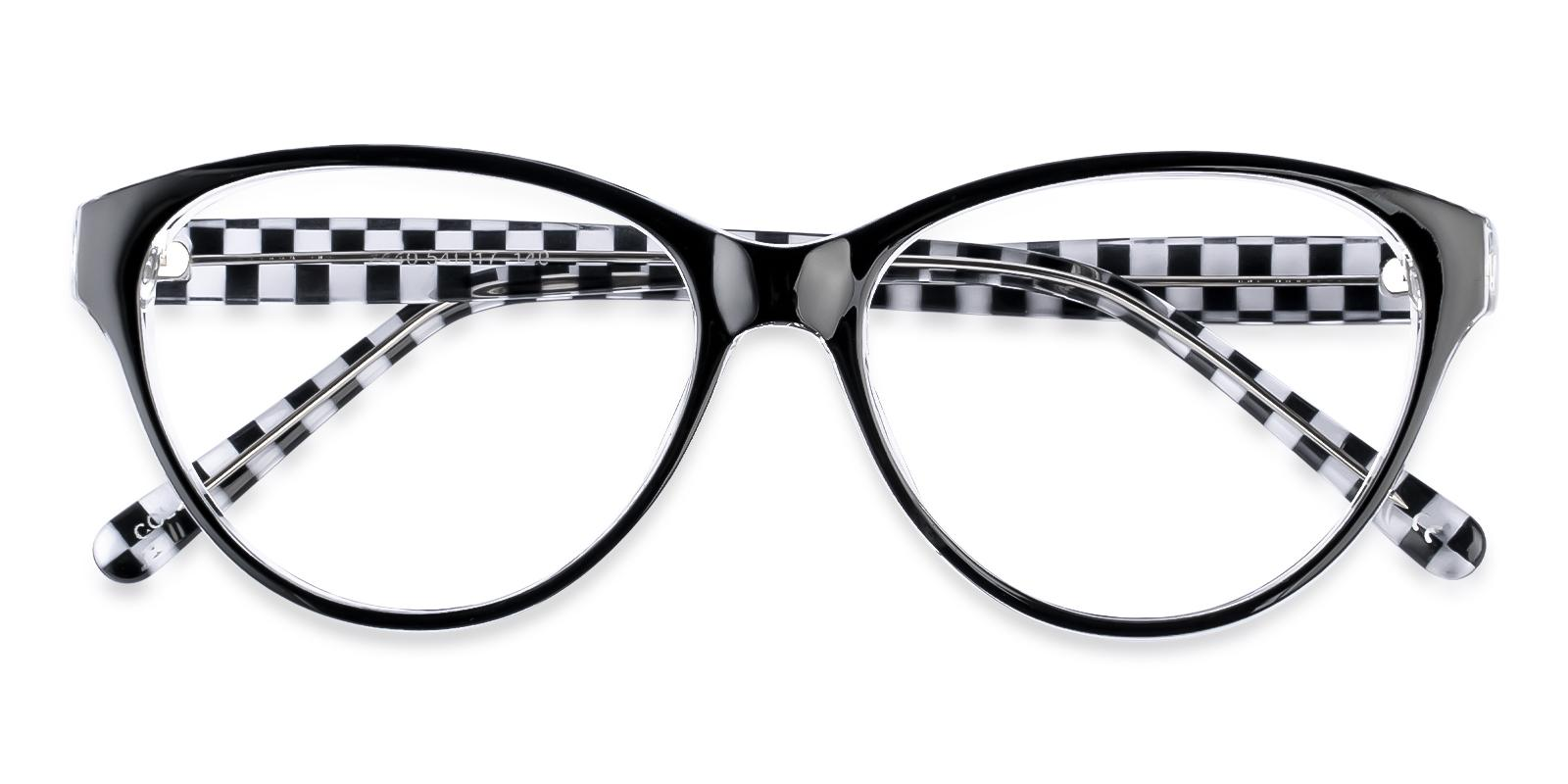 Flame Pattern Plastic Eyeglasses , UniversalBridgeFit Frames from ABBE Glasses