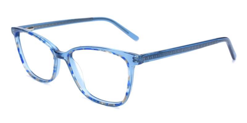 Blue Sweden - Acetate Eyeglasses , UniversalBridgeFit