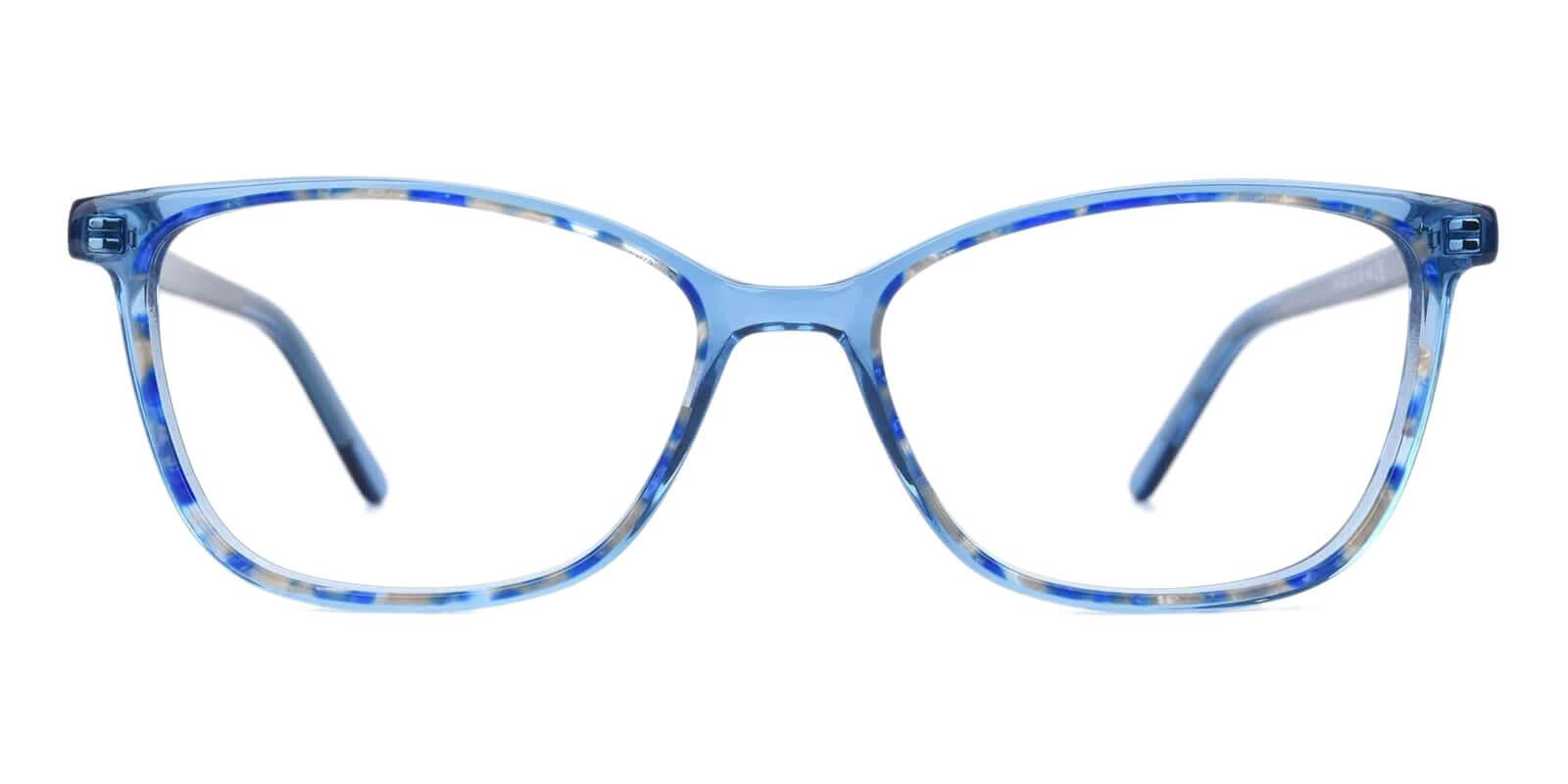 Sweden Blue Acetate Eyeglasses , UniversalBridgeFit Frames from ABBE Glasses