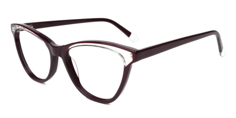 Brown Luznic - Acetate ,Universal Bridge Fit