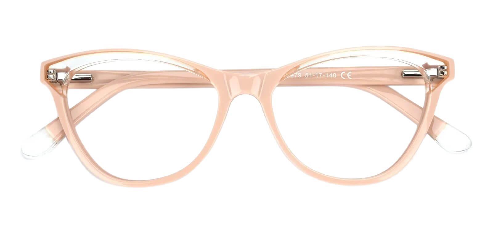 Luznic Pink Acetate Eyeglasses , UniversalBridgeFit Frames from ABBE Glasses