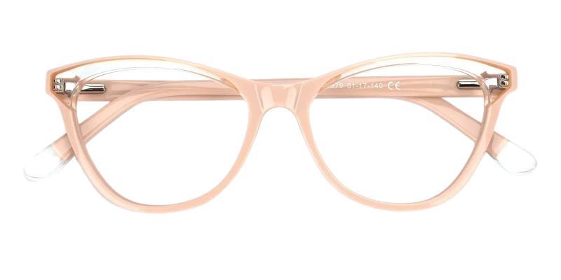 Pink Luznic - Acetate Eyeglasses , UniversalBridgeFit