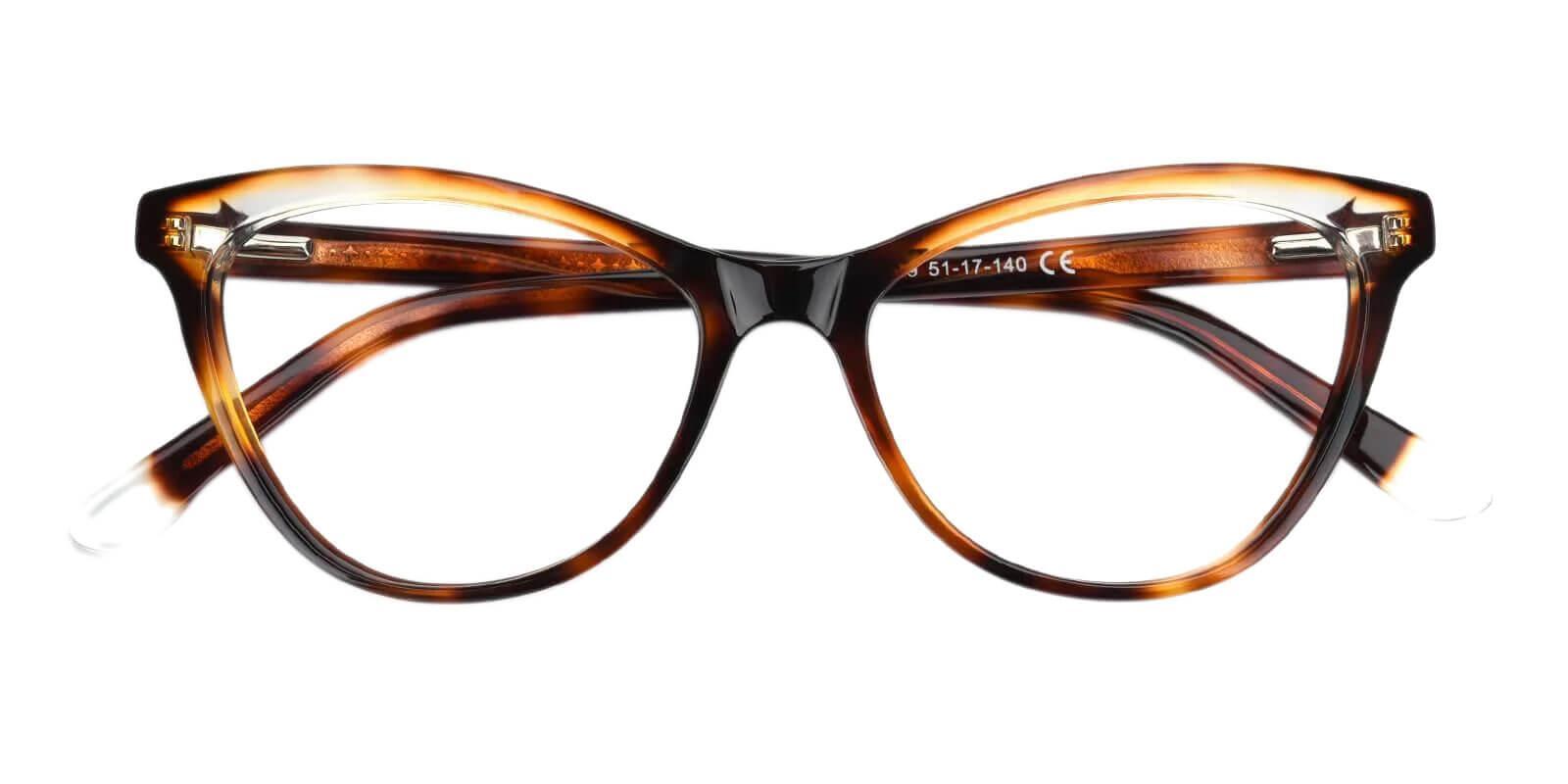 Luznic Tortoise Acetate Eyeglasses , UniversalBridgeFit Frames from ABBE Glasses