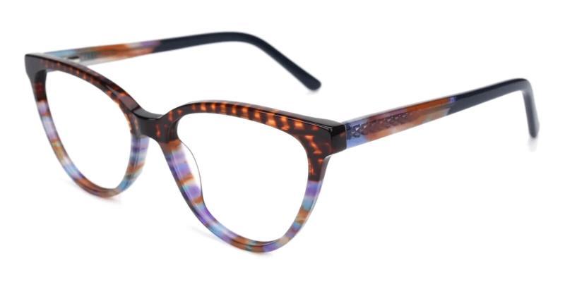 Tortoise Sazava - Acetate Eyeglasses , UniversalBridgeFit