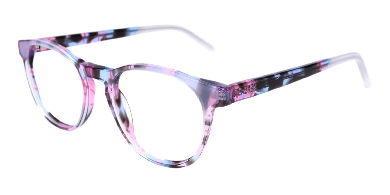 Otava Purple Acetate Eyeglasses , UniversalBridgeFit Frames from ABBE Glasses