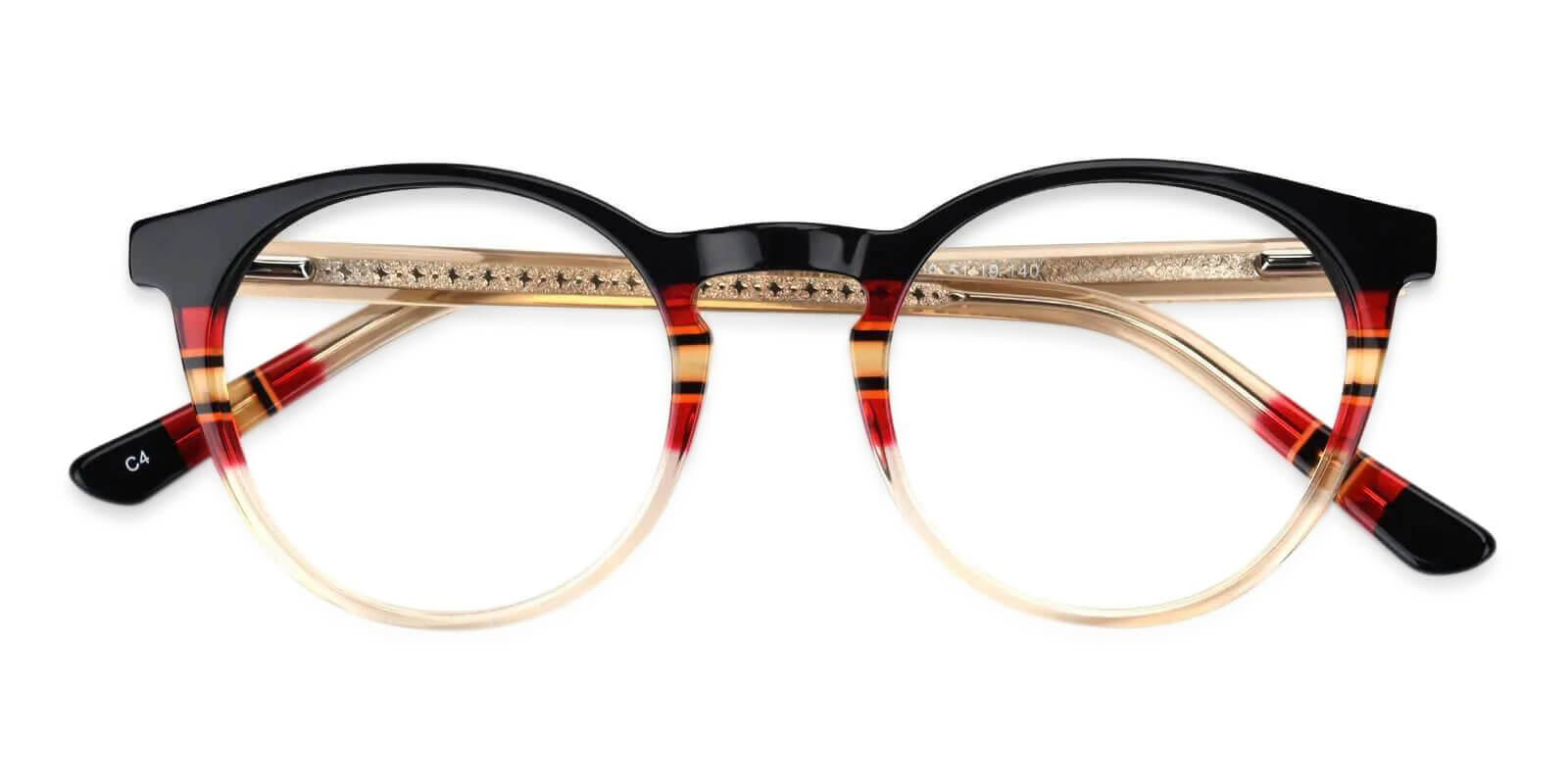 Berounka Pattern Acetate Eyeglasses , UniversalBridgeFit Frames from ABBE Glasses