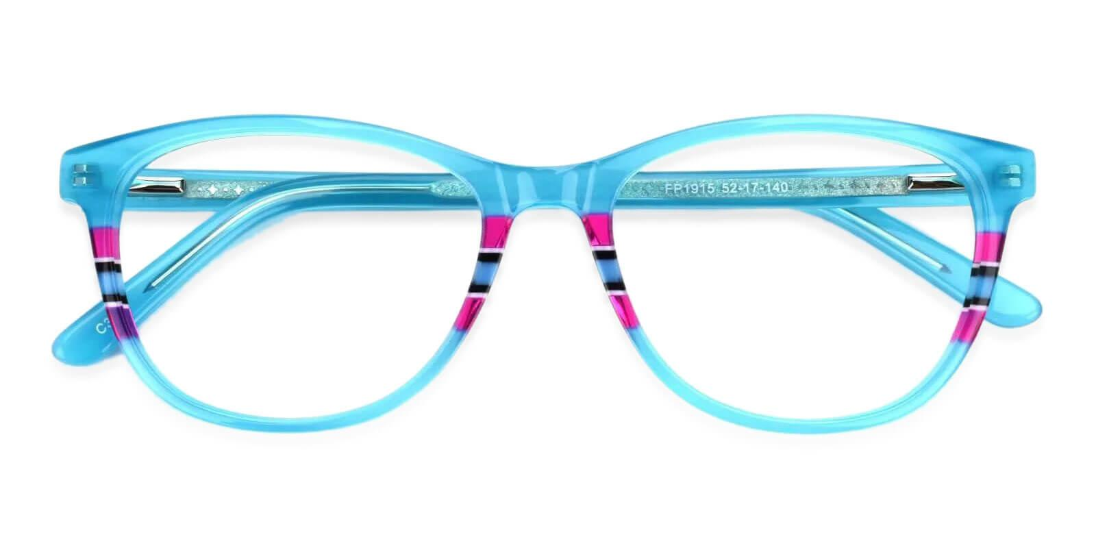 Vltava Green Acetate Eyeglasses , UniversalBridgeFit Frames from ABBE Glasses