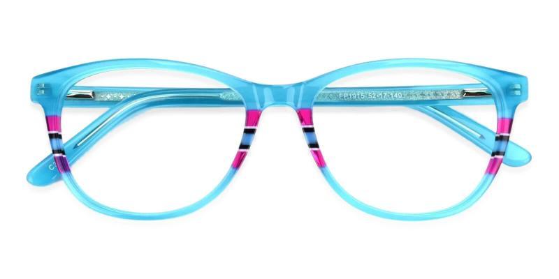 Green Vltava - Acetate Eyeglasses , UniversalBridgeFit