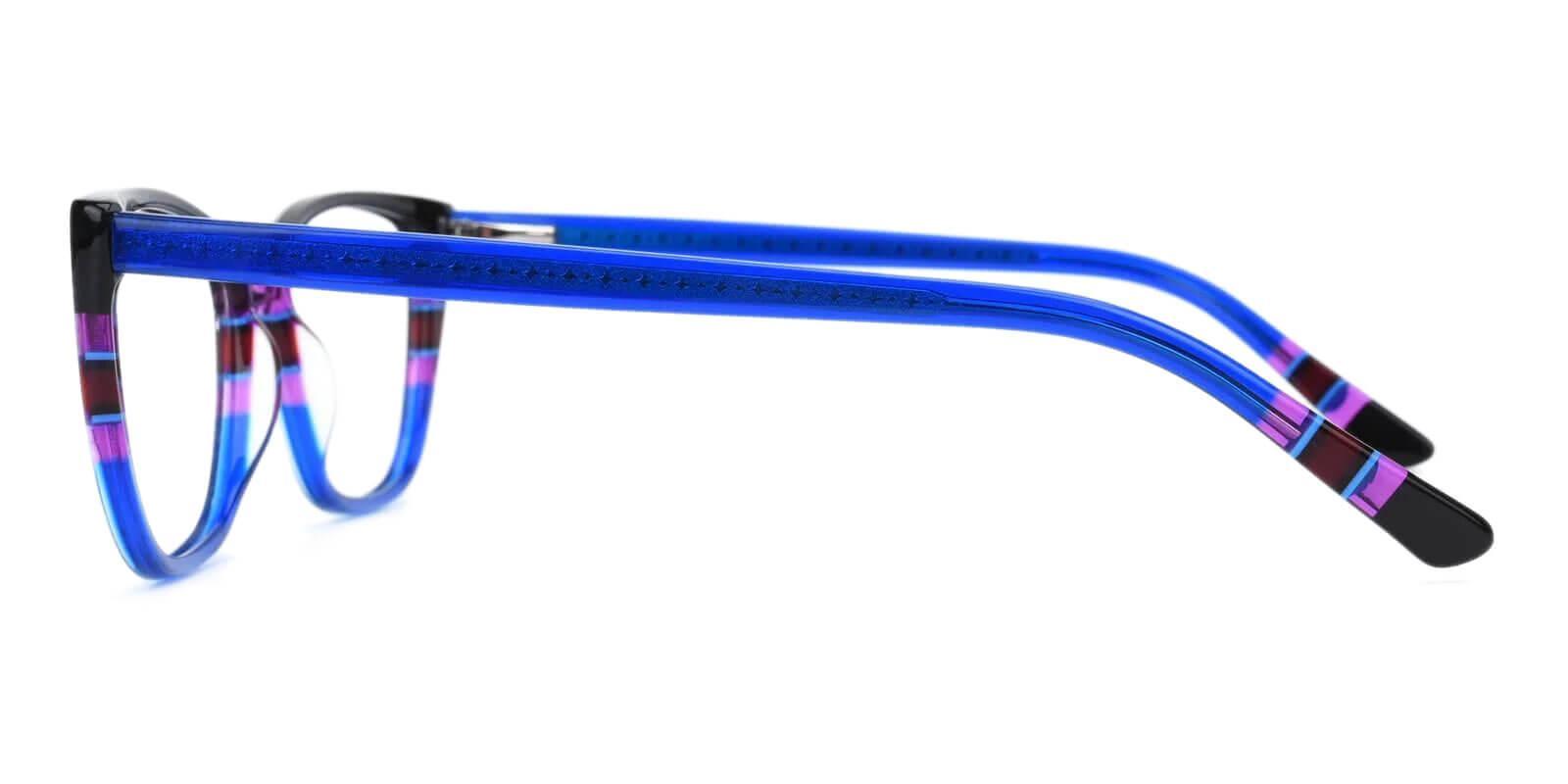 Prague Blue Acetate Eyeglasses , UniversalBridgeFit Frames from ABBE Glasses