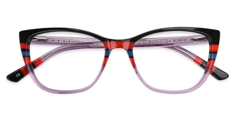 Prague - Acetate Eyeglasses , UniversalBridgeFit