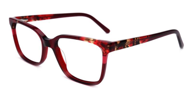 Red Mars - Acetate Eyeglasses , UniversalBridgeFit