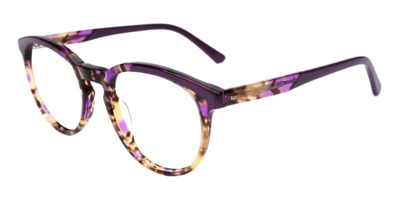 Purple Innsbruck - Acetate ,Universal Bridge Fit