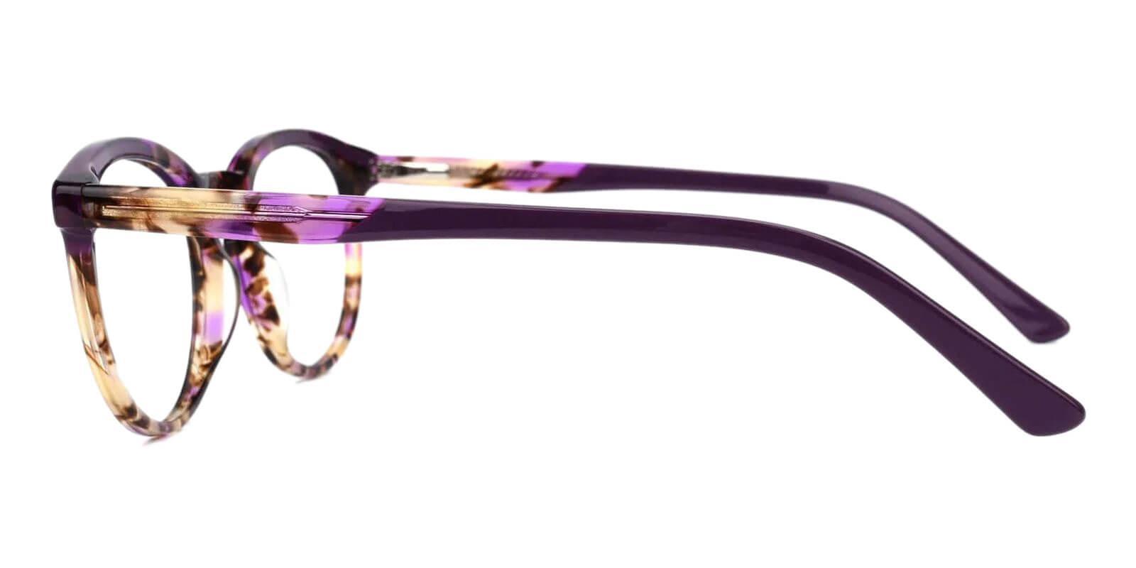 Innsbruck Purple Acetate Eyeglasses , UniversalBridgeFit Frames from ABBE Glasses