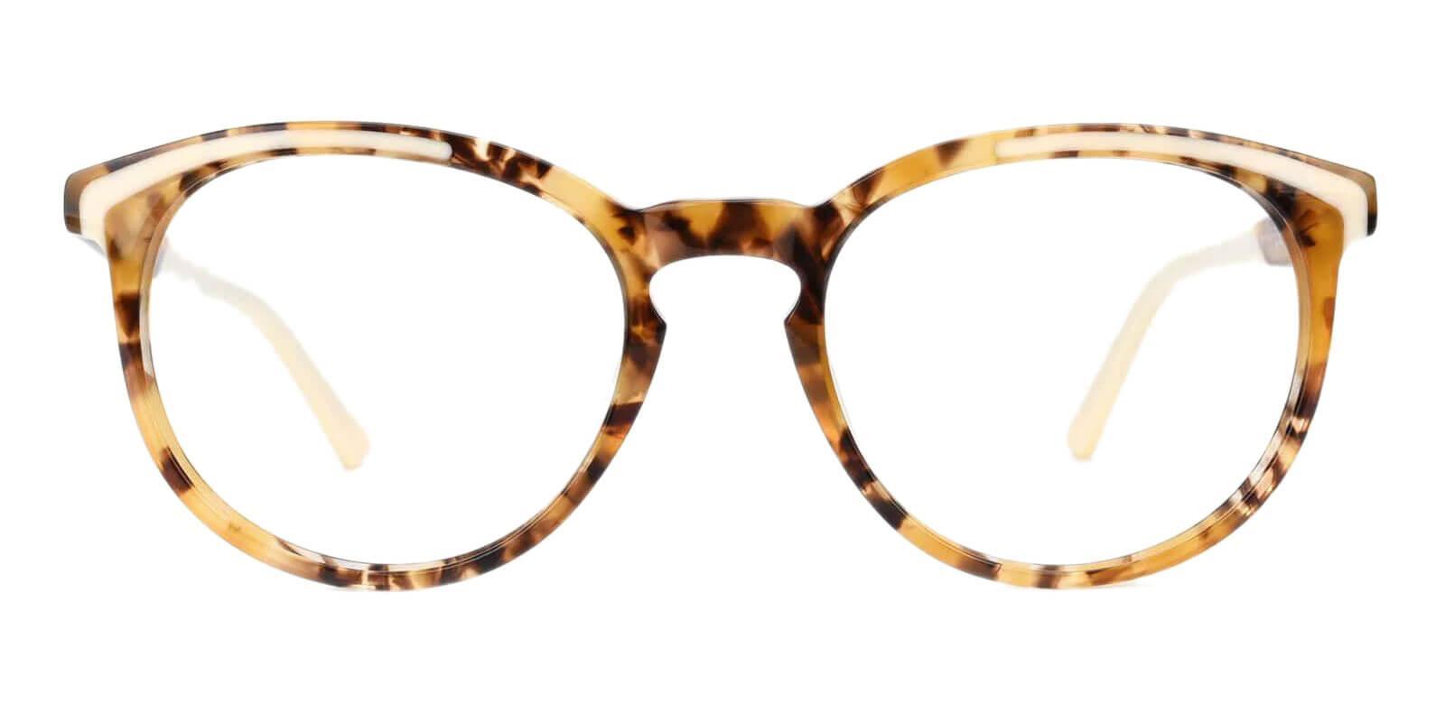 Innsbruck Yellow Acetate Eyeglasses , UniversalBridgeFit Frames from ABBE Glasses