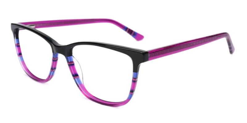 Purple Wolfgang - Acetate ,Universal Bridge Fit