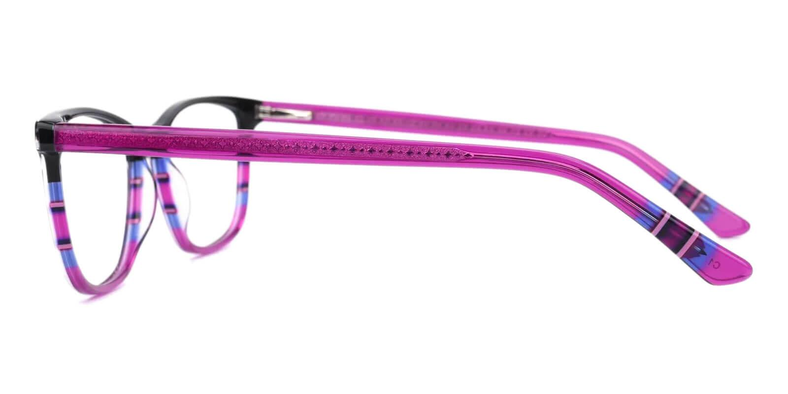 Wolfgang Purple Acetate Eyeglasses , UniversalBridgeFit Frames from ABBE Glasses