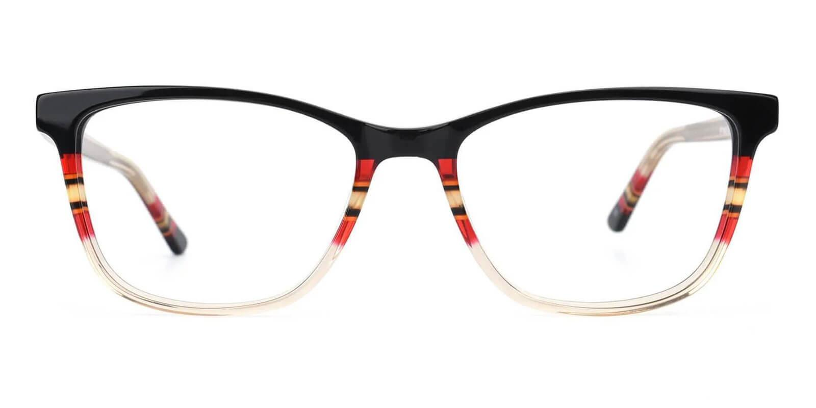 Wolfgang Yellow Acetate Eyeglasses , UniversalBridgeFit Frames from ABBE Glasses