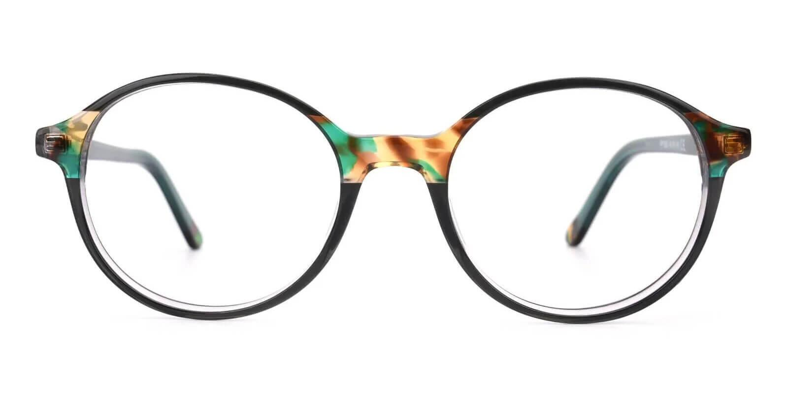 Vienna Green Acetate Eyeglasses , UniversalBridgeFit Frames from ABBE Glasses