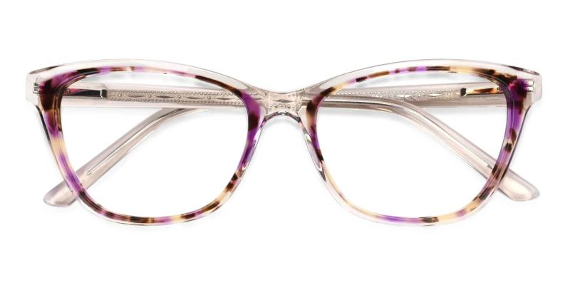 Purple Strauss - Acetate Eyeglasses , UniversalBridgeFit
