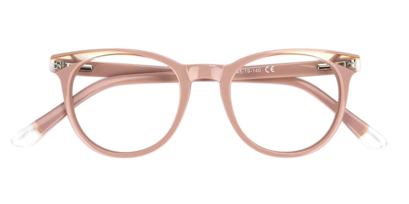 Dimona Pink Acetate Eyeglasses , UniversalBridgeFit Frames from ABBE Glasses