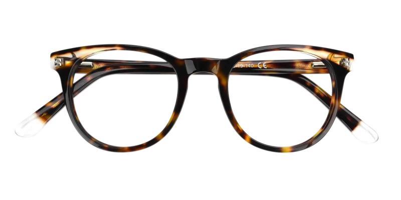 Tortoise Dimona - Acetate Eyeglasses , UniversalBridgeFit