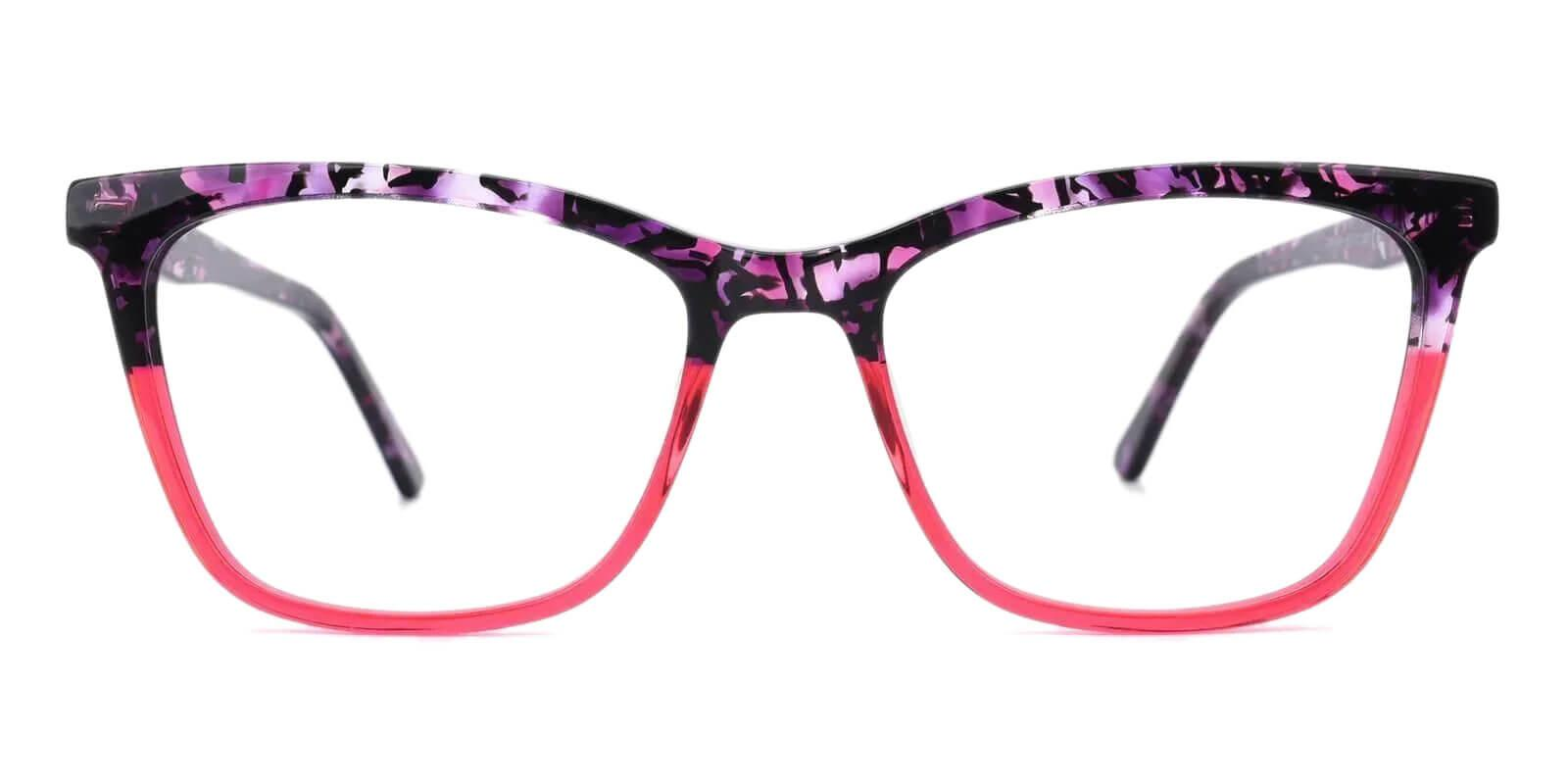 Masser Purple Acetate Eyeglasses , UniversalBridgeFit Frames from ABBE Glasses