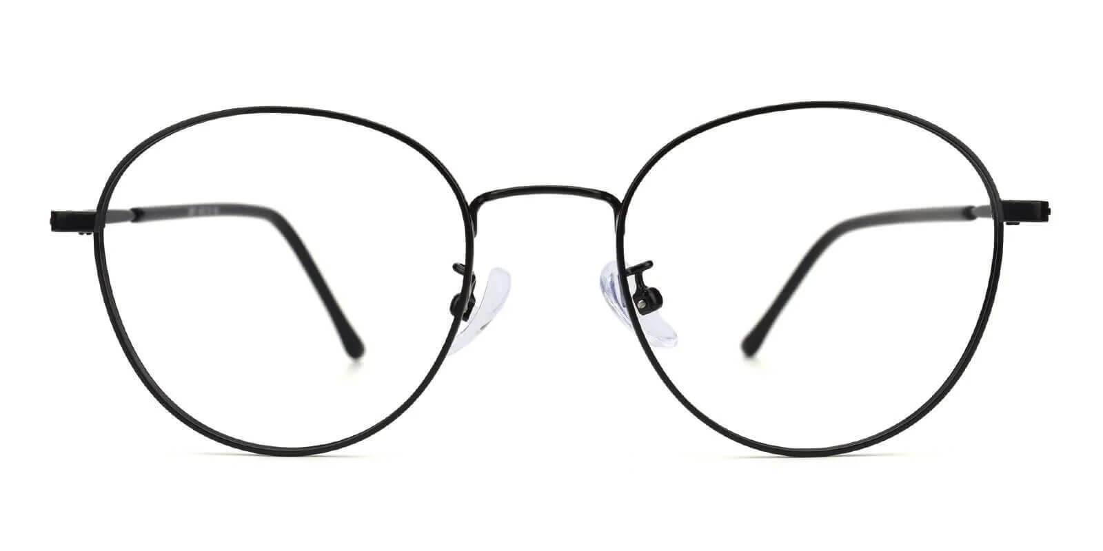 Joe Black Metal Eyeglasses , NosePads Frames from ABBE Glasses