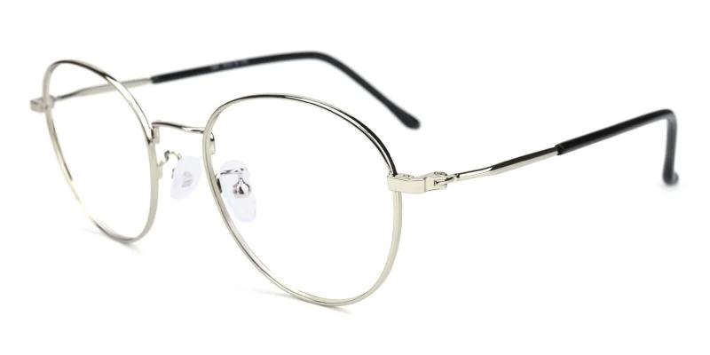 Silver Joe - Metal Eyeglasses , NosePads