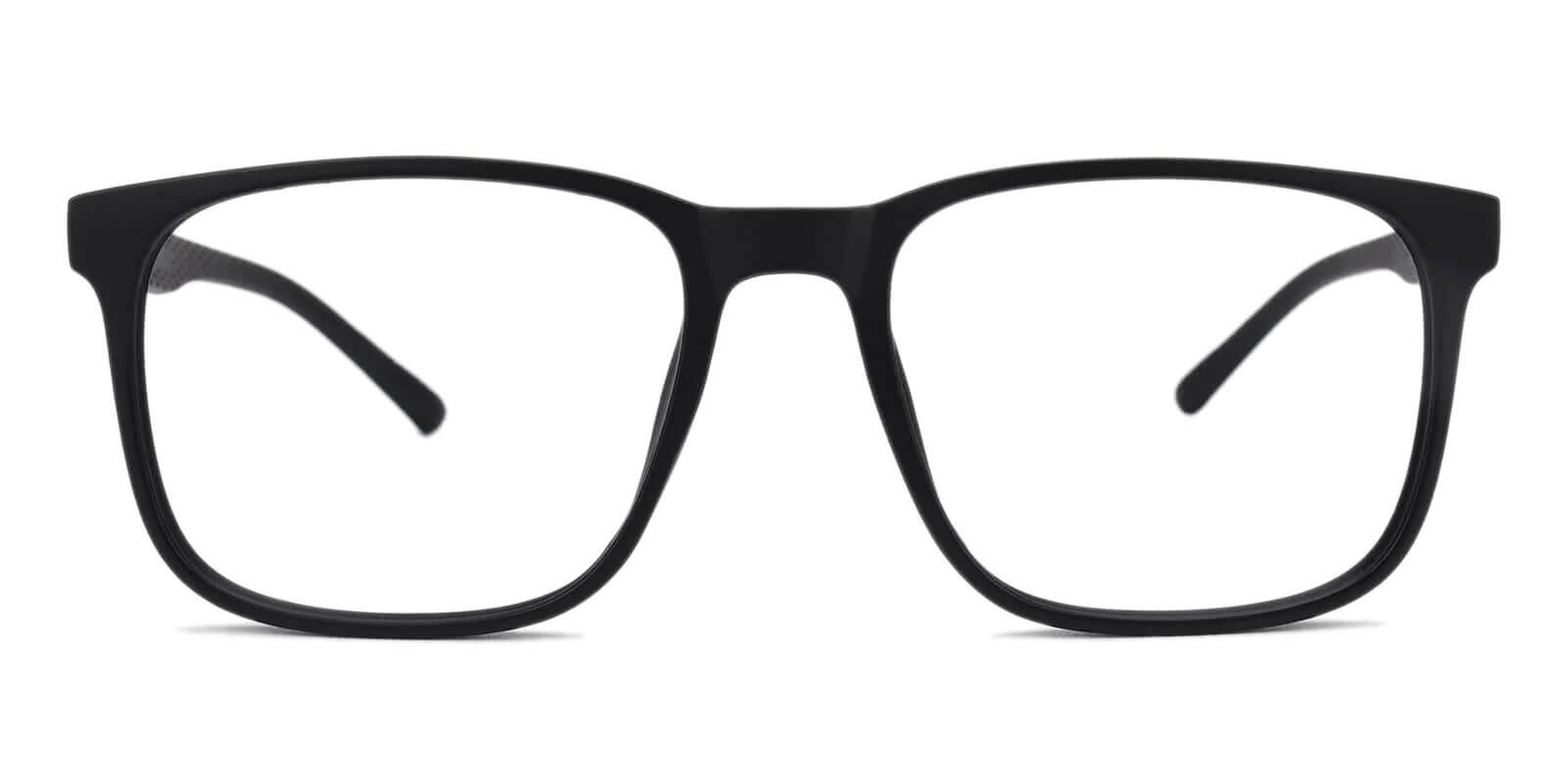 Machel Black TR Eyeglasses , UniversalBridgeFit Frames from ABBE Glasses