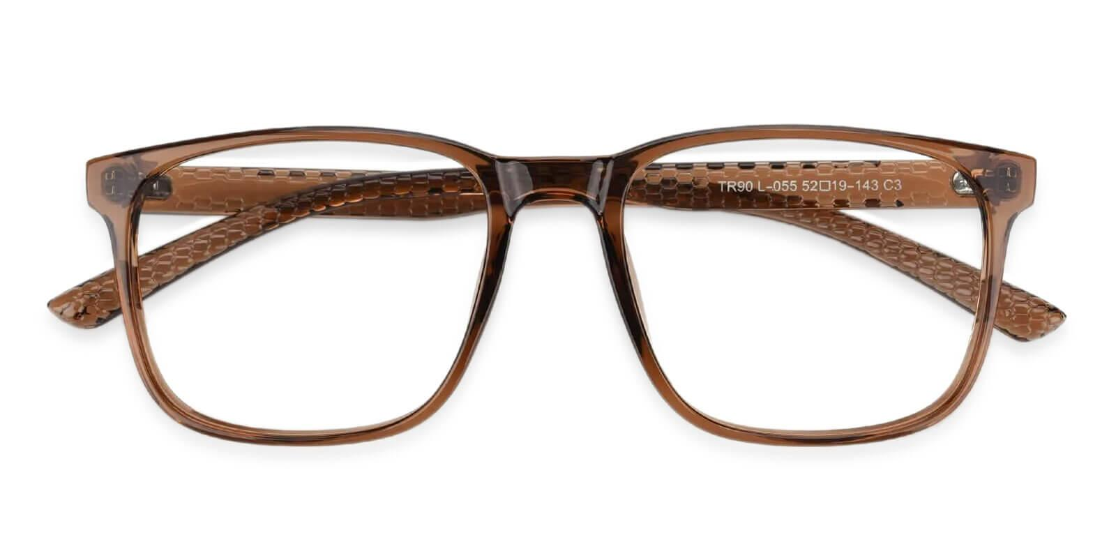 Machel Brown TR Eyeglasses , UniversalBridgeFit Frames from ABBE Glasses