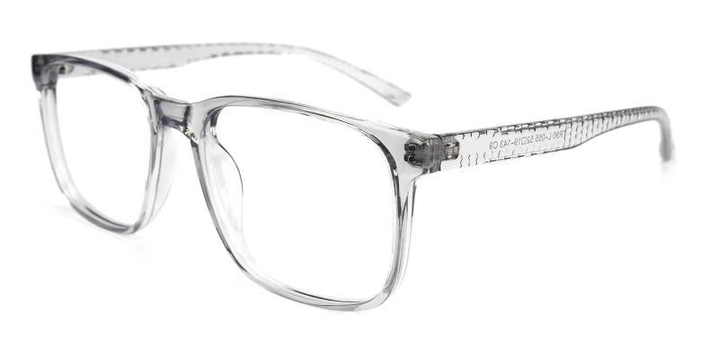 Gray Machel - TR Eyeglasses , UniversalBridgeFit