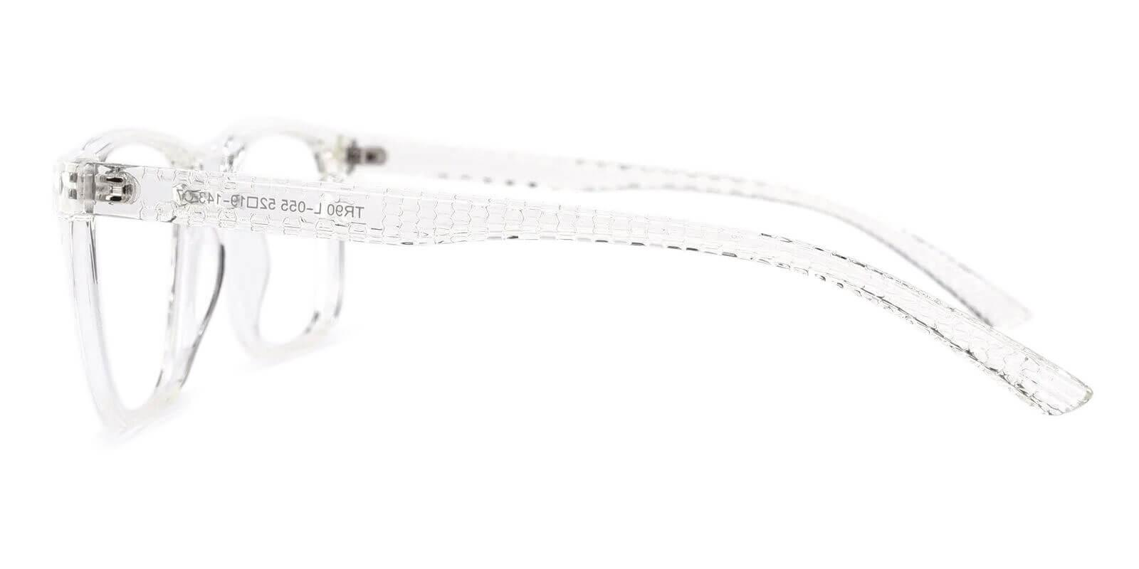 Machel Translucent TR Eyeglasses , UniversalBridgeFit Frames from ABBE Glasses