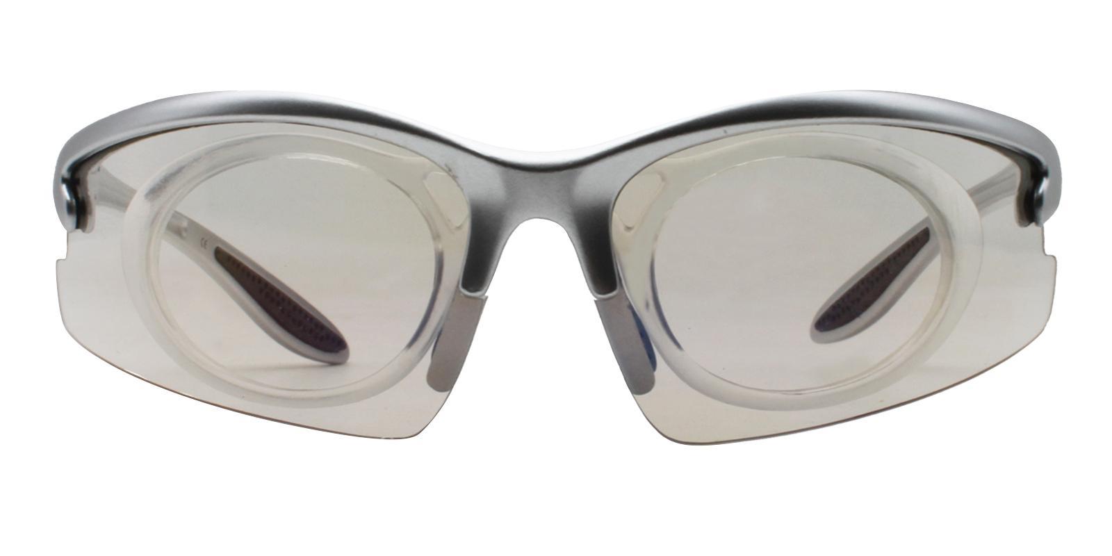 Jonesboro Silver Plastic NosePads , SportsGlasses Frames from ABBE Glasses