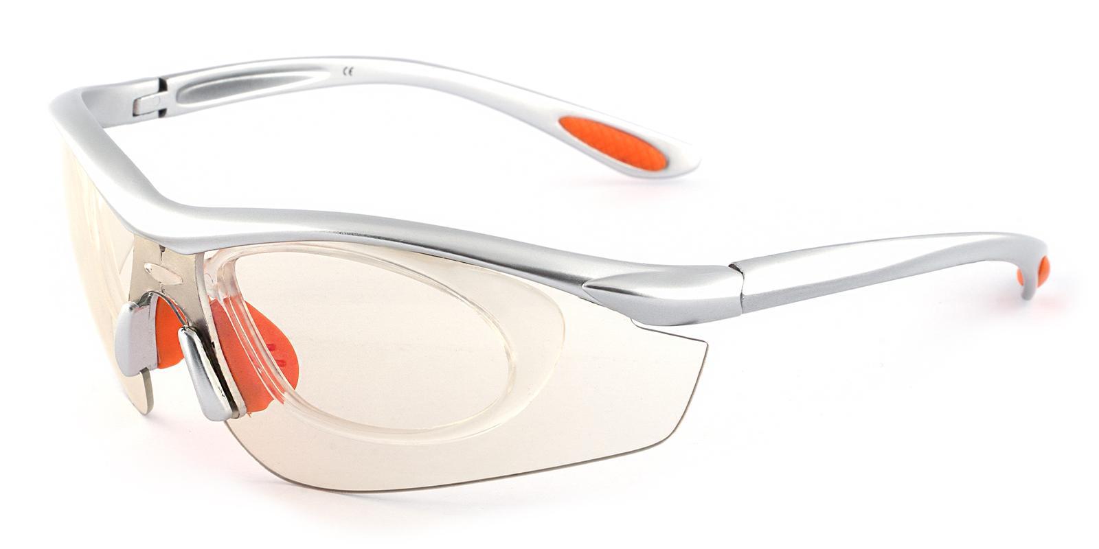 Gustavus Silver Plastic NosePads , SportsGlasses Frames from ABBE Glasses
