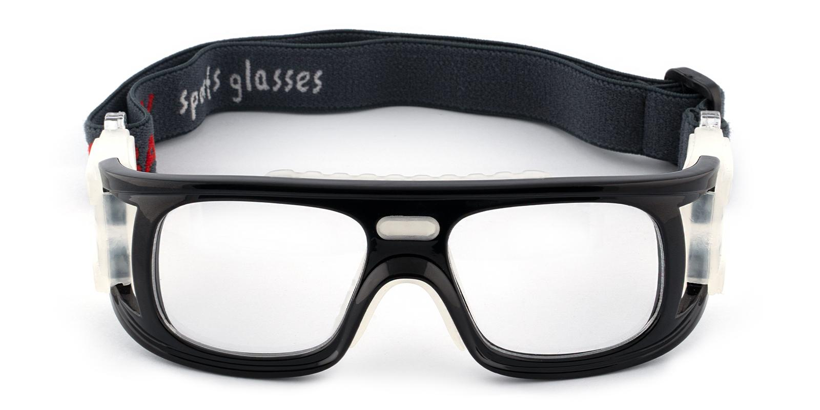 Lock Springs Black Plastic NosePads , SportsGlasses Frames from ABBE Glasses