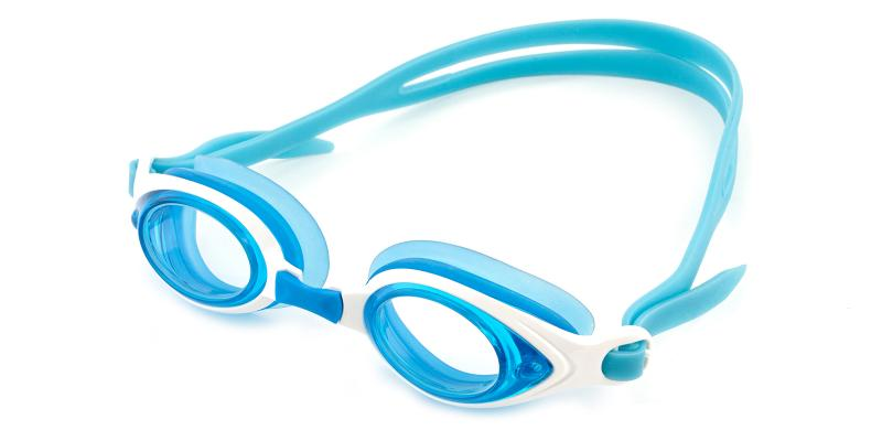Blue Chok - Plastic SportsGlasses