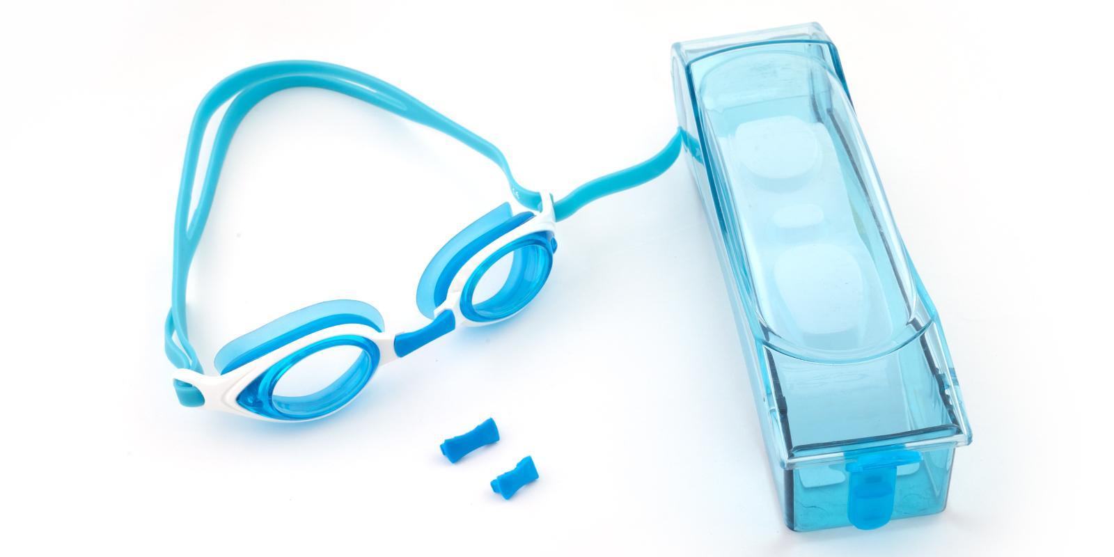 Chok Blue Plastic SportsGlasses Frames from ABBE Glasses