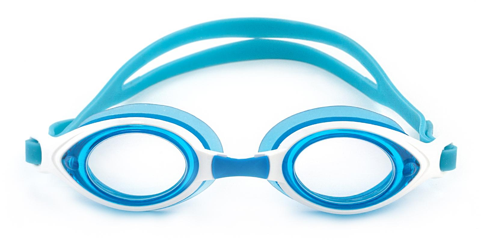 Chok Blue Plastic SportsGlasses Frames from ABBE Glasses